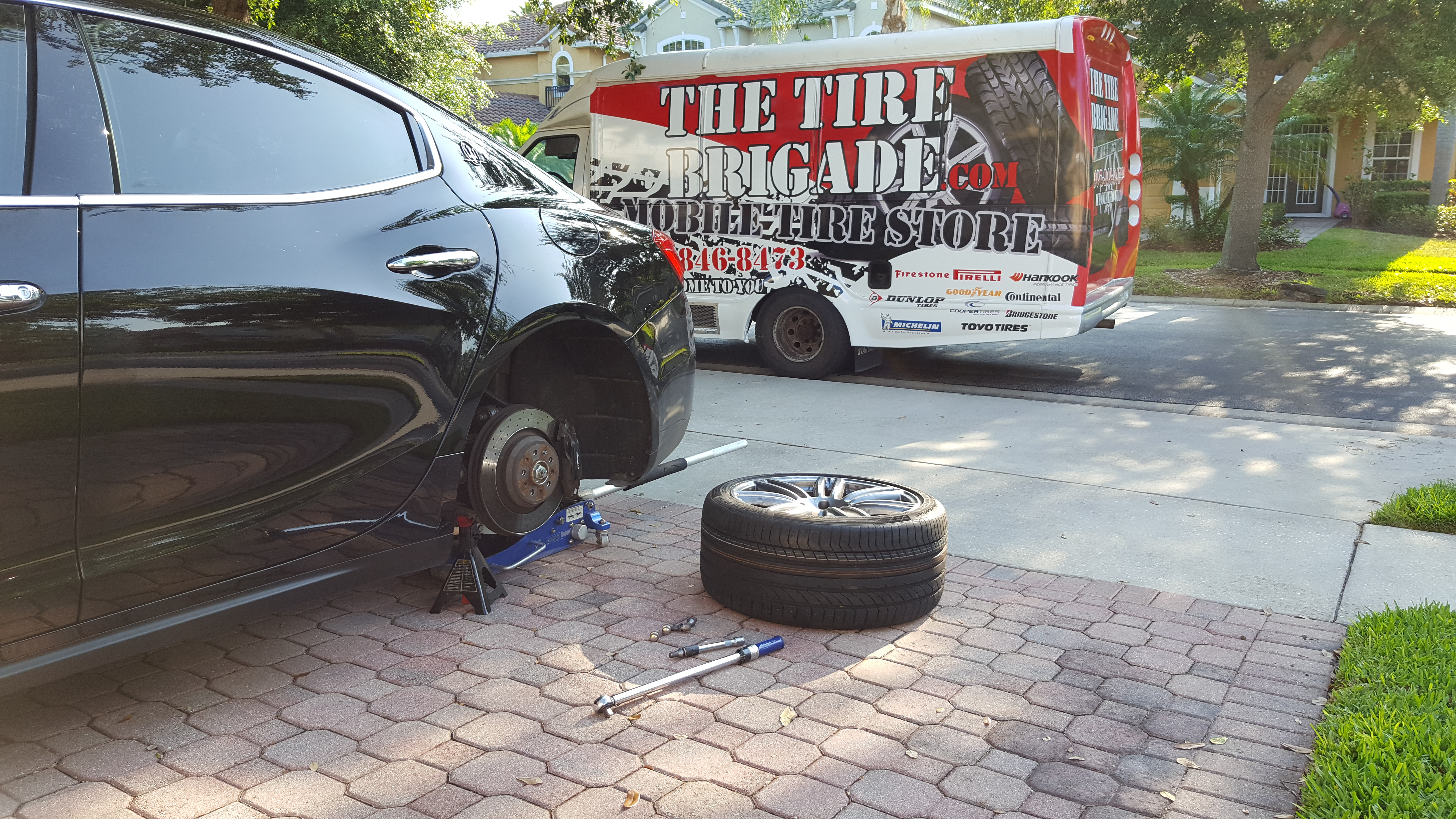 New Used Tires Wheels Rims In Orlando Fl Er Tire >> The Tire Brigade Tire Shop Tires For Sale Tire Shop Mobile